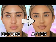 Lipstick: Morphe - Sweet Tea & Gloss aesthetic aesthetic surgery job job before and after remodelling Face Contouring Makeup, Nose Makeup, Bear Makeup, Highlighter Makeup, Nose Contour Brush, Nose Highlight, Perfect Nose, Nose Surgery, Fake Nose