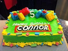 Cake Decorating: Lego Birthday