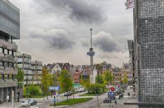 Rotterdam, Cn Tower, Times Square, Building, Travel, Viajes, Buildings, Destinations, Traveling