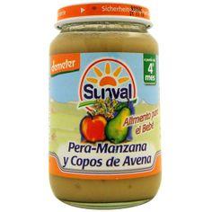 NOVEDAD Potito Pera Manzana Avena Ecológico (+4) Sunval - Ecologgi.com (Más variedades en Ecologgi.com)