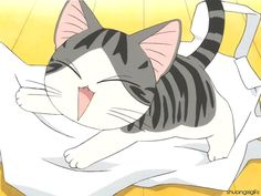 The perfect Meow Kitty Anime Animated GIF for your conversation. Discover and Share the best GIFs on Tenor. Kawaii Anime, Cute Anime Cat, Kawaii Cat, I Love Anime, Totoro, Anime Animals, Cute Animals, Chi Le Chat, I Love Cats