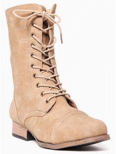 Lace Up #Combat #Boots
