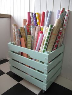 Wooden crate / storage