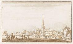 Jan de Bisschop | Paardenmarkt te Valkenburg, Jan de Bisschop, 1649 |