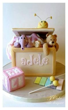 The baby toys cake