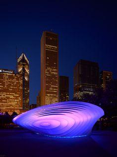 Burnham Pavilion @ Chicago, USA (by Zaha Hadid Architects)