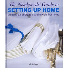 Newlyweds' Guide to Setting Up Home Book: Setting up a first home can be daunting and expensive, especially if you are on a budget. Start off on the right foot by saving 10% when use our exclusive coupon code: www.couponfinder.com/s/43817/?xtrnl=pinterest