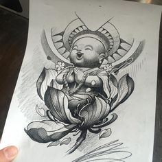 My clients are some really rad people, this makes me happy!! #worldofpencils #prismacolor #babybuddha