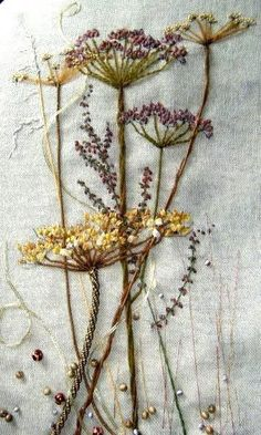 Wonderful Ribbon Embroidery Flowers by Hand Ideas. Enchanting Ribbon Embroidery Flowers by Hand Ideas. Brazilian Embroidery Stitches, Hand Embroidery Stitches, Silk Ribbon Embroidery, Hand Embroidery Designs, Vintage Embroidery, Embroidery Techniques, Embroidery Kits, Cross Stitch Embroidery, Machine Embroidery