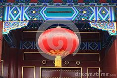 According to the chinese tradition, at the very beginning of a new year, there should be thousands of colorful lanterns hung out.