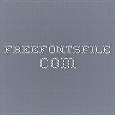 字型下載國度 freefontsfile.com