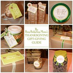 Personalized Thanksgiving 'Gift-Giving' Printables