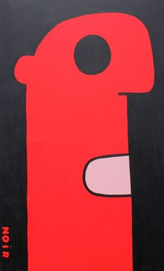 THIERRY NOIR http://www.widewalls.ch/artist/thierry-noir/  #street #art