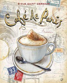 Quadrinho - Café de Paris
