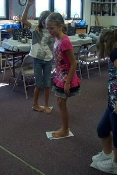 Back to School with Newspaper Dancing
