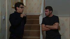 Video preview: Thu 18 Sep 7pm - Aaron Livesy Ross Barton, Aaron Livesy, Emmerdale Actors, Danny Miller, Self Destruction, September 2014, Going Crazy, Soaps, Britain