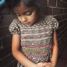Smocked Dress by littlefatti on Etsy