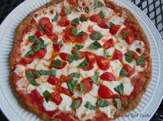 Low Carb Pizza (for one)