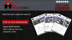 Google+ header design to match website and Facebook header for Value Build Homes in Sanford NC
