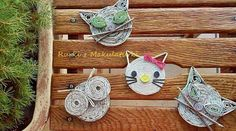 Calamite cannucce di carta Crafts To Make, Crafts For Kids, Diy Crafts, Newspaper Crafts, Cardboard Furniture, Art N Craft, Paper Jewelry, Preschool Learning, Recycled Crafts
