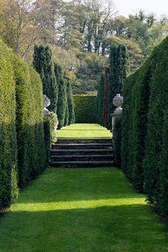 Ein englischer Landgarten in den Cotswolds (hausundgarten.de) This Cotswolds garden is a topiary dre The Secret Garden, Plantas Indoor, English Country Gardens, Formal Gardens, Modern Gardens, Small Gardens, Garden Cottage, Garden Villa, Garden Bed