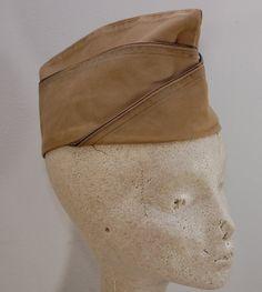 Vintage US ARMY Garrison cap hat 1951 Sz 6 by ilovevintagestuff