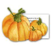 Trio of Pumpkins Halloween Invitations