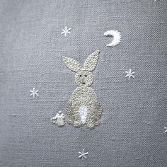 Midnight Star-Gazer Nursery Cushion