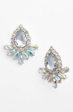 BP. Teardrop Fan Stud Earrings (Juniors)   Nordstrom