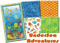 UnderSea Adventures with panel. Kit available!