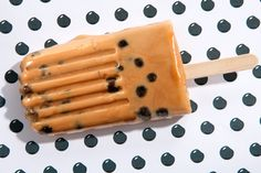 Mmmm a Thai Tea Boba Popsicle would be soo good...