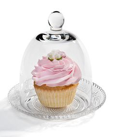 Another great find on #zulily! Cupcake Plate & Dome by Godinger #zulilyfinds
