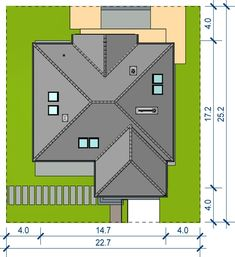 Roof Design, House Design, Cambodian Art, Roof Plan, House Plans, Floor Plans, Construction, How To Plan, Room