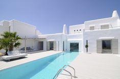 Summer House Minimal moderno em Paros Cyclades [Grécia] ... design by Logodotis   Trendland