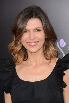 Or, take a walk on the darker side like Finola Hughes and go ombre for stellar strands whether they're worn straight or wavy. #divorce #trashthedress #hair #makeover