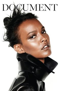 New Fashion Magazine launches in September: Cover model Liya Kebede photographed by Collier Schorr. Liya Kebede, African Beauty, African Women, Fashion Cover, Fashion Art, Fashion News, Img Models, Black Models, Covergirl