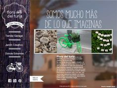 home flors del turia #web #floristería #alicante #elcampello #organic #branding