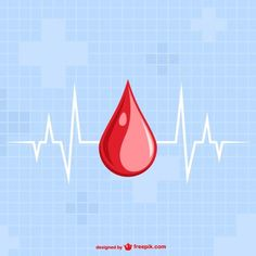 Blood Drop Template Free Vector | Flickr - Photo Sharing!