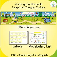 141 Best Arabic Seeds Downloadable Resources for Kids and
