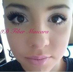 Want lashes like hers? She's wearing 3D Fiber Mascara. Visit my website to purchase. $29 www.mascaragalore.com