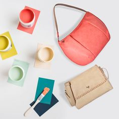 Dedicated to the beauty of #pastel shades, the designers @Baggit have been inspired by softer hues to design this pretty #totebag. #Inspiration #Baggit #womensfashion #pastels