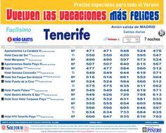 2ªEdición Las vacaciones mas felices. Hoteles en TENERIFE, salidas desde Madrid - http://zocotours.com/2aedicion-las-vacaciones-mas-felices-hoteles-en-tenerife-salidas-desde-madrid/