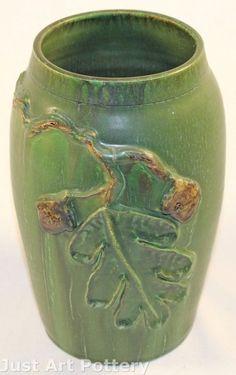 #CAPCA | Door Pottery | Scott Draves | Acorns & Oak Leaf | Arts & Crafts
