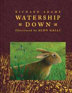Watership Down by Richard Adams, one of my favorite books - EVER!
