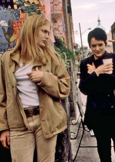 Angelina Jolie & Winona Ryder in Girl, Interrupted.