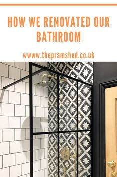 Last year we fully renovated our bathroom in our Edwardian house. We added a separate shower and included a freestanding bath. I opted for a black, white, monochrome scheme, as I wanted a modern take on a traditional bathroom. The taps and shower are brushed bath. Have a read of blog post to see how we transformed the room, and to hopefully provide inspiration.