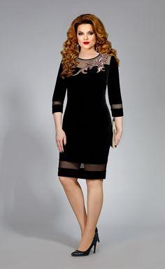 Платье Mira Fashion арт. 4371 Little Black Dress Outfit, Black Dress Outfits, Chic Outfits, Designer Dresses, Beautiful Dresses, Lace Dress, Party Dress, Short Dresses, Fashion Dresses