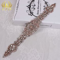 Aliexpress.com : Buy (30pieces) Wholesale Hotfix Sewing Beaded Rose Gold Cristal Diamond Stones and Crystals Rhinestone Wedding Applique from Reliable stone molding suppliers on FangZhiDi