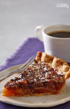 Salted-Chocolate Pecan Pie #recipe