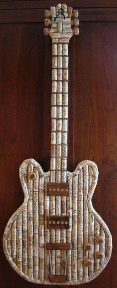 reciclar-tapones-de-corcho-guitarra
